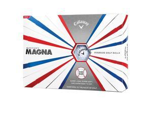 Callaway Golf Supersoft Magna Golf Balls - Dozen (White)