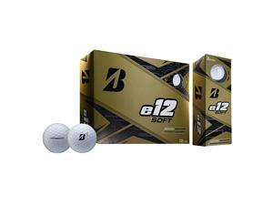 2019 Bridgestone E12 Soft Golf Balls 1 Dozen White NEW