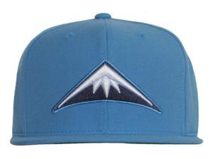 43033682535 Denver Nuggets Mountain Mitchell   Ness Powder Blue Snapback Cap