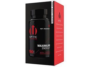 UPTIME-Maximum Energy Blend Tablets-Premium Supplement - 90ct. Bottle