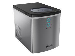 Avanti IM1213S-IS Portable Home Countertop Ice Maker Machine, Stainless Steel
