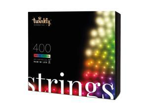 Twinkly 400 LED RGB Multicolor & White 105 ft. String Lights, WiFi Controlled