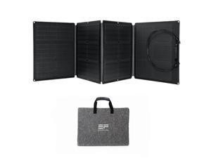 EcoFlow EFSOLAR110N Waterproof Portable Folding Solar Panel Station for Outdoors