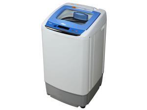 RCA RPW091 0.9 Cu Ft Portable Apartment RV Laundry Washer Washing Machine, White