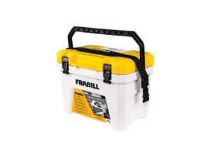 Frabill Magnum Live Bait Station 13 Quart Storage Cooler Tackle Box with Aerator