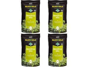 SunGro Horticulture Seedling Germination Mix for Seeds, 1.5 Cubic Feet (4 Pack)