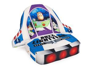 Marshmallow Furniture Children's 5-in-1 Cushion Chair, Toy Story Buzz Lightyear