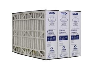 Trion 255649-105 Air Bear 16 x 25 x 5 Inch MERV 8 Air Purifier Filter (3 Pack)