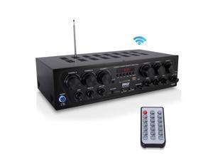Pyle PTA62BT Bluetooth Home Audio 750 Watt 6 Channel Amplifier Stereo Receiver