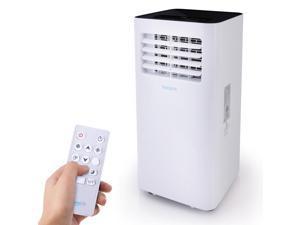 SereneLife SLPAC105W 300 Square Feet 10000 BTU Portable Air Conditioner w/Remote