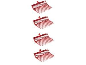 Little Giant Polycarbonate Pitchfork Replacement Head w/ Angled Tines (4 Pack)