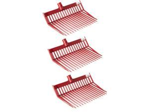 Little Giant Polycarbonate Pitchfork Replacement Head w/ Angled Tines (3 Pack)
