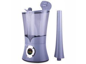 Air Innovations Ultrasonic Cool Mist Aromatherapy Digital Humidifier, Platinum