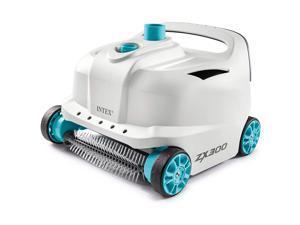 Intex 28005E 700 Gal Per Hour Automatic Pool Cleaner Robot Vacuum w/ 21 Ft Hose