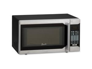 Avanti MO7103SST 0.7 Cubic Foot Capacity Microwave Oven - Black/Silver