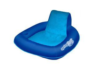 SwimWays Spring Float SunSeat Water Pool Summertime Relaxation Lounge Seat, Blue