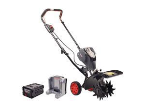 Powerworks TL60L2510PW 60V 8-Inch Brushless Tiller with 2.5Ah Battery & Charger