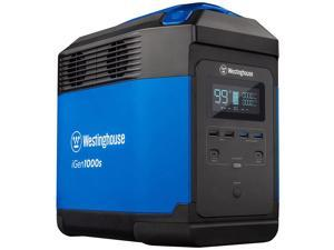 Westinghouse Portable Power Station with Solar Power for Outdoor Events, Blue