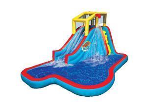 Banzai Slide N Soak Splash Park Inflatable Outdoor Kids Water Park (OpenBox)