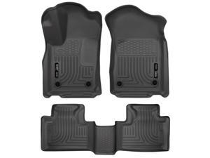Husky Liners WeatherBeater Front//2nd Floor Mats Blk For Ford Fusion//MKZ 13-15