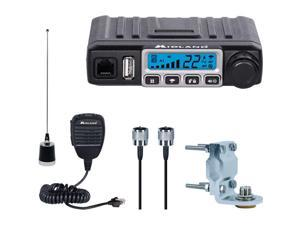 Midland MXT115VP3 Micro Mobile MXT115 15W GMRS 2 Way Radio Antenna Bundled Kit