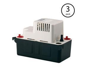 Little Giant VCMA-20UL 115V 80 GPH Vertical Centrifugal Condensate Pump (3 Pack)