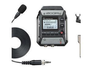 Zoom F1 Field Digital Handy Sound/ Voice Portable Size Recorder & Lavalier Mic