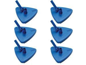 HydroTools 8140 Weighted Triangle Pool Vacuum Head Cleaner Attachment (6 Pack)