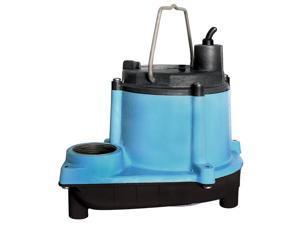 Little Giant 6 Series 1/3 HP Integral Diaphragm Submersible Sump Pump (2 Pack)