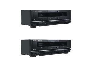ION Audio Dual Dubbing Cassette Conversion System Audio Tape Deck 2 PC (2 Pack)