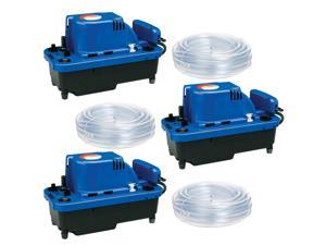 Little Giant VCMX-20ULST NXTGen High-Capacity Condensate Removal Pump (3 Pack)