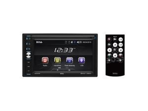 """Boss Double-DIN 320W 6.5"""" Touchscreen Bluetooth Car Multimedia Player w/ Remote"""