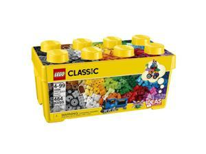 LEGO Classic Medium Creative Bricks Kids 484 Piece Building Box Set | 10696