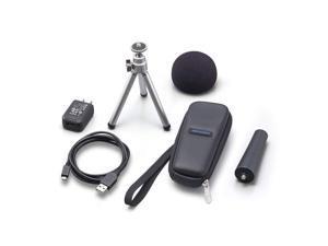 Zoom H1n APH-1N Handy Digital Recorder Accessory Kit + Tripod, Mic Clip Adapter