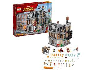 LEGO Marvel Super Heroes Sanctum Sanctorum Showdown 1004 Piece Set for Kids 8-14