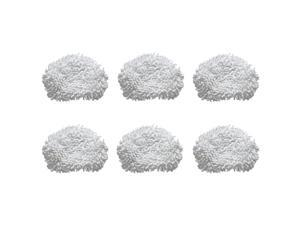 Shark Replacement Washable Microfiber Mop Pads for Lift-Away Steam Mop, 6 Pack