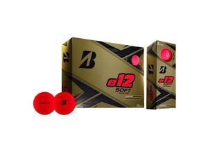 Bridgestone Golf Co. E12 Soft (MATTE RED) Golf Balls