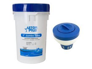 50 lb Bucket 3 Inch Pool/Spa Stabilized Chlorine + Floating Tablet  Dispenser - Newegg com