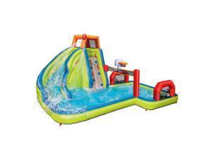 Banzai Aqua Sports Water Park Inflatable Kids Aquatic Activity Play Center