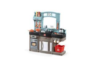 Step2 Pretend Play Kids Best Chef's Toy Cooking Kitchen Set with Accessories