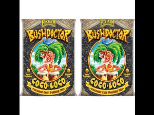 FoxFarm FX14100 Bush Doctor Coco Loco Plant Garden Potting Soil Mix, (2 Pack)