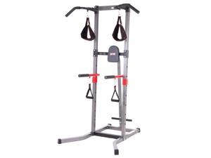 Body Flex Sports VKR1987 Body Power Multi Function Power Tower Workout Station