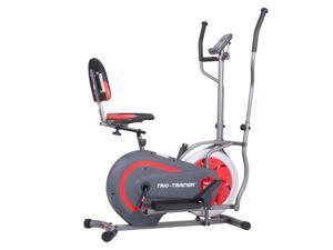 Body Flex Sports Body Power Trio Trainer 3 In 1 Elliptical and Bicycle Machine