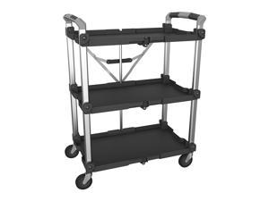 Olympia Tools 85-189 Pack n Roll XL Collapsible Storage Service Cart with Wheels