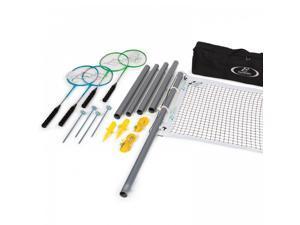 EastPoint Sports 1-1-41620-DS Deluxe Aluminum Outdoor Badminton Yard Game Set