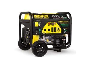 CHAMPION POWER EQUIPMENT 100297 8000W Dual Fuel Portable Generator 120/240V