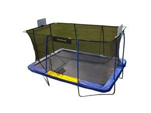 Jumpking JKRC10152BHC3 Rectangular Trampoline with Basketball Hoop Attachment