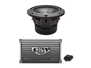 "Rockford Fosgate 10"" 1000W Car Audio Subwoofer and 1500W MONO Amplifier"