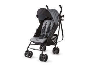 Summer Infant 3Dlite+ Convenience One-Hand Adjustable Stroller Matte Gray