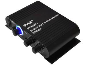 Pyle - 90 Watts Class T Hi-Fi Stereo Amplifier W/Adapter